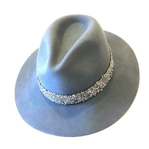 Accessories - Dusty Blue Fedora